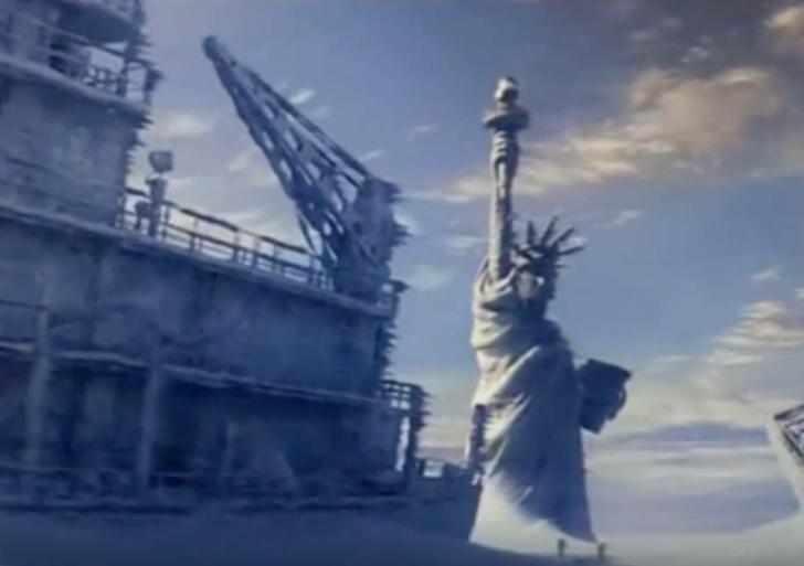 Siempre sufre Nueva York en las películas de desastres