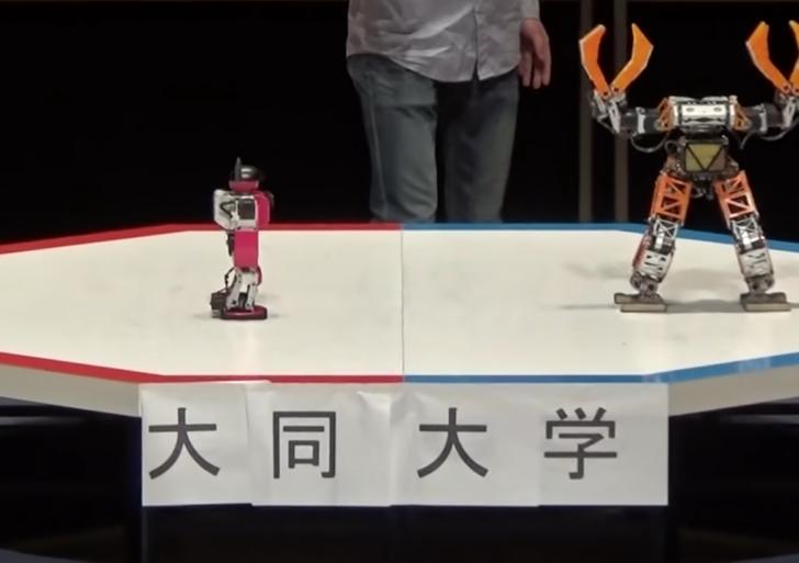Estas son las peleas de robot que has querido toda la vida