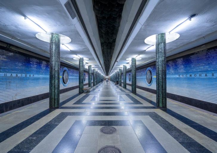 La elabora arquitectura de las estaciones de metro de la antigua Unión Soviética