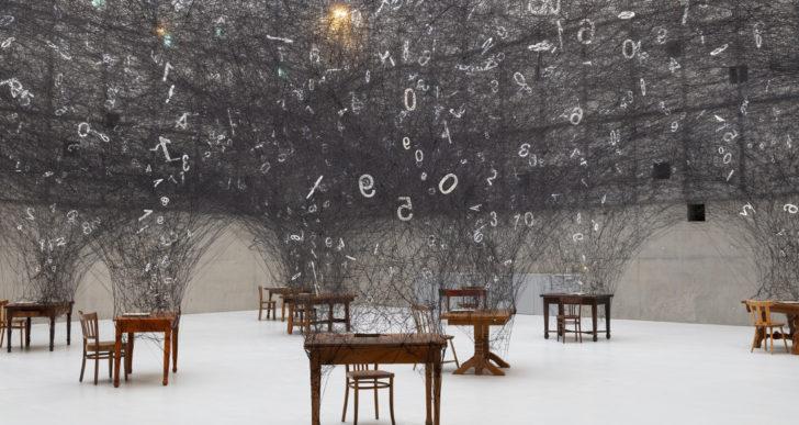 Esta instalación interactiva celebra la universalidad de los números