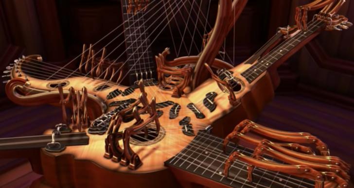 «Resonant Chamber», impresionante animación musical