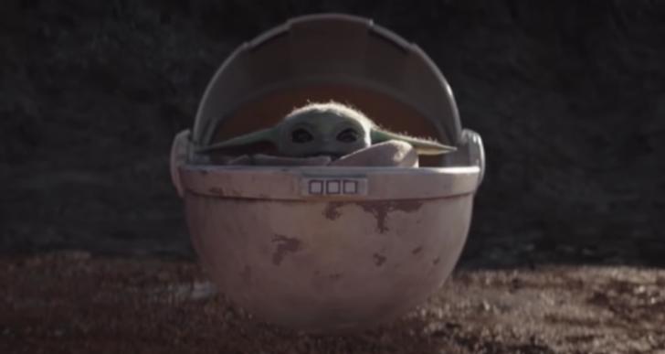 Una recopilación de las mejores escenas de Yoda bebé