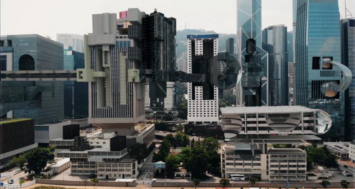 Ciudades futuristas que respiran por AUJIK