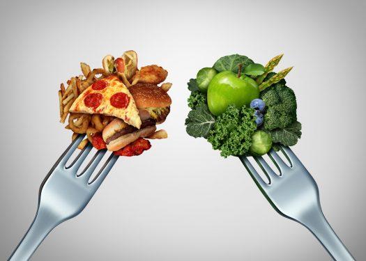 Cómo cambiar de dieta afecta a tu cuerpo