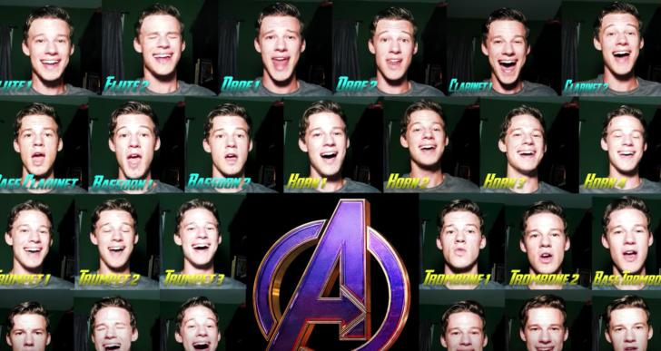 Esta persona canta toda la orquesta de Avengers: Endgame solito