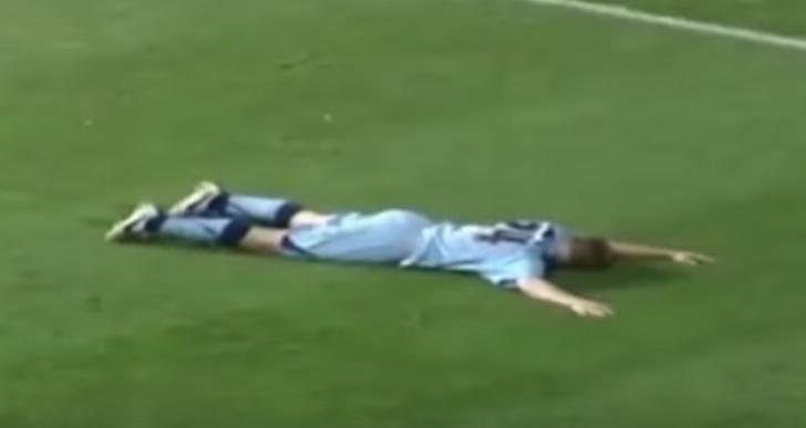 Cuando algo sale mal en la celebración durante el fútbol