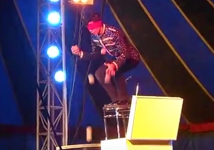 Esto pasa cuando las cosas salen mal en el circo