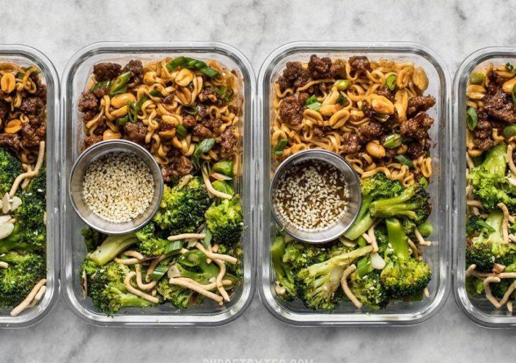 Cómo preparar tu comida para la semana sin morir de aburrimiento