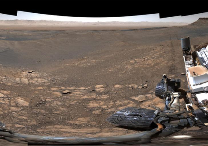 Esta foto de Marte fue hecha con más de mil fotos