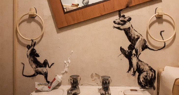 Banksy trabaja desde tu casa durante la cuarentena