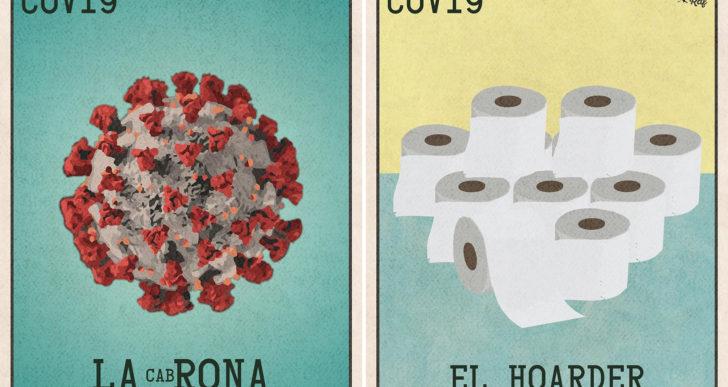 Este artista creó la Lotería, versión coronavirus