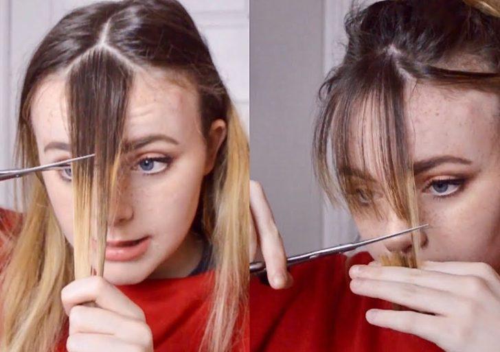 Cómo cortarte el fleco en casa sin arrepentirte después