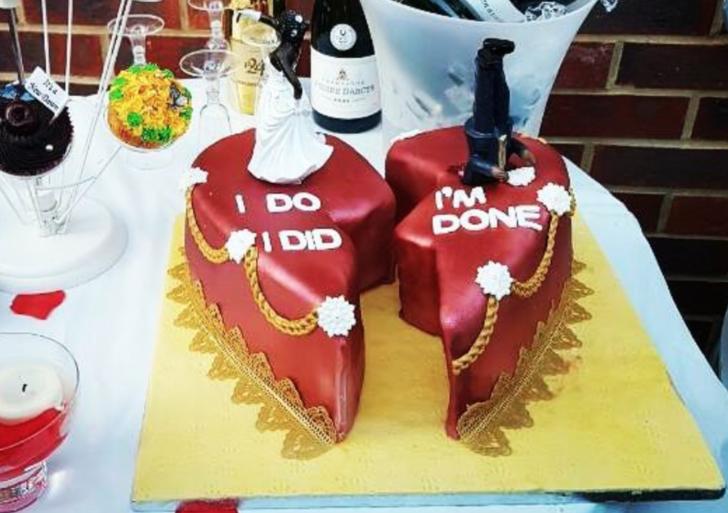 15 pasteles de divorcio que te van a encantar