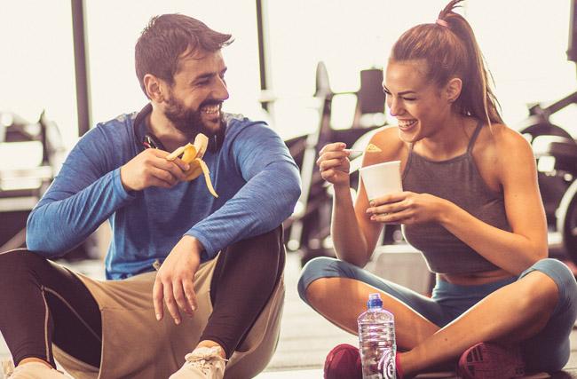 ¿Deberías de comer antes de hacer ejercicio o no?