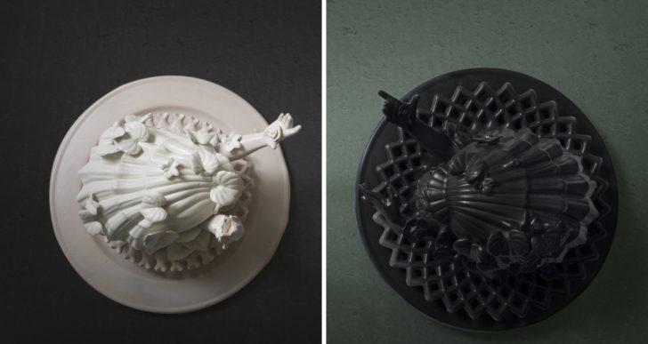 Extrañas y surreales esculturas por Morel Doucet