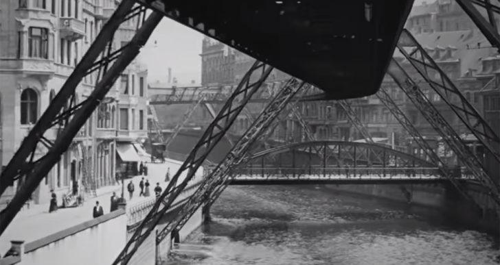 Este video restaurado fue filmado hace más de 100 años