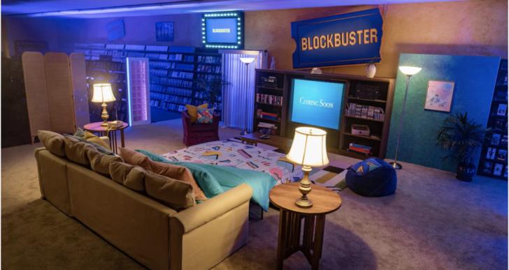 Reconecta con tu infancia y pasa la noche en un Blockbuster
