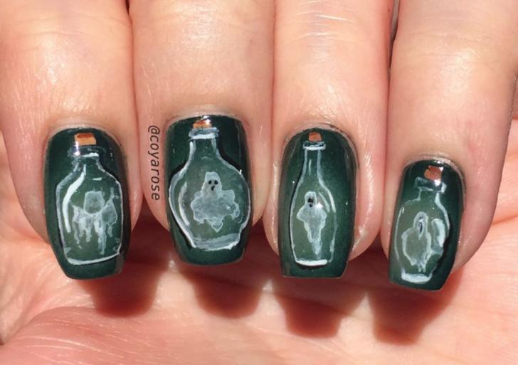 10 estilos para tus uñas este Halloween sin perder la elegancia
