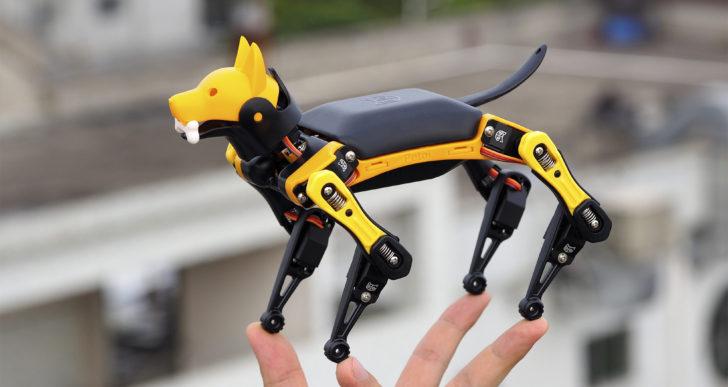 Crea a tu propio perro robótico con este kit para hacerlo en casa
