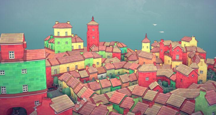 Relájate y despreocúpate creando un pequeño pueblo en este juego