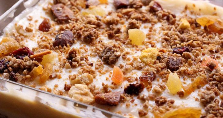 Cómo incluir la granola en tu comida más allá del yogurt