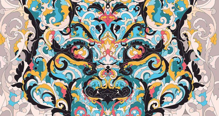 Animales emergen de los patrones decorativos de YoAz