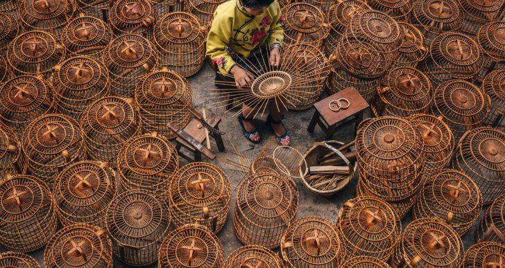 Estas fotos encuadran la inesperada belleza de la vida cotidiana en Asia