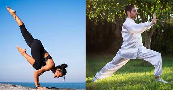 ¿Tai chi o yoga, cuál de los dos es la mejor práctica de cuerpo-mente para ti?