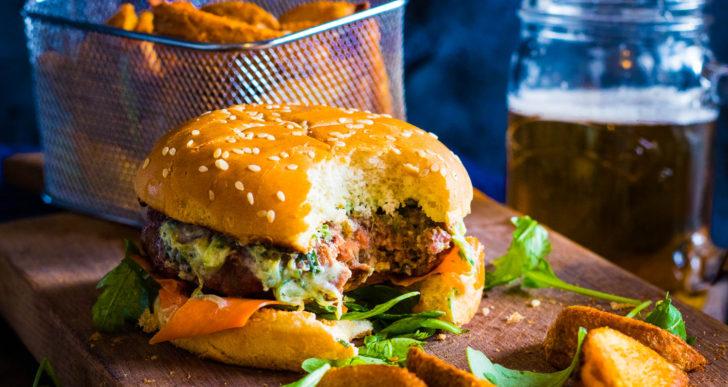 Esta es la única manera que debes de preparar una hamburguesa