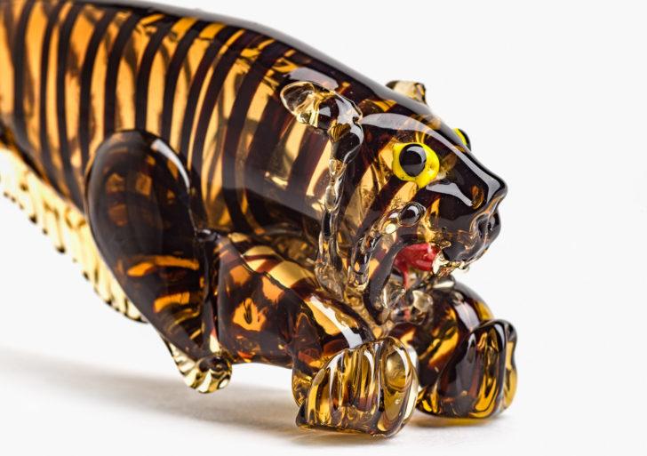 Más de 750 animales de vidrio conforman esta colección artística