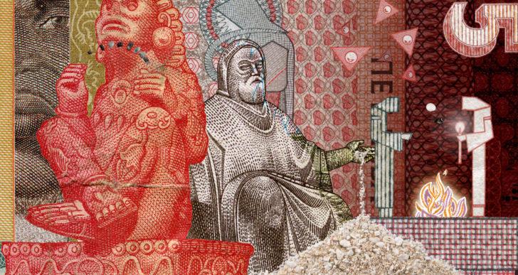 Este corto está hecho con arena y billetes de todas partes del mundo