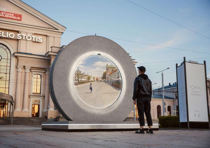 Estos «portales» unen a dos ciudades en Polonia